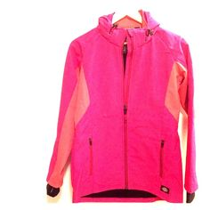 NWOT Performance Jacket with Hood NWOT performance jacket without hood - perfect for transitional weather! Two-toned and awesome. Women's small. Dickies Jackets & Coats