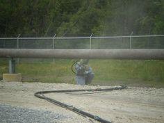 Blasting Pipeline Project, Railroad Tracks, Train Tracks