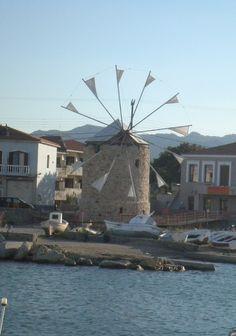 3 μύλοι Βρονταδος Χιος Ελλαδα  Three windmills VRONTADOS Chios Greece