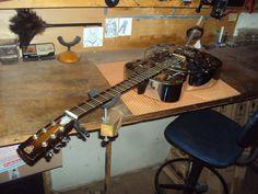 Violão - Dobro Resonator - Oficina das Guitarras Mozart