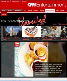 Bird's Party Royal Wedding Article on CNN Entertainment!! by Bird's Party