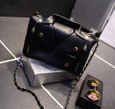 Designer Handbags High Quality Women PU Leather Jacket Bags Women Clothing Shoulder Messenger Bag Day Clutch Purse bags S-1964