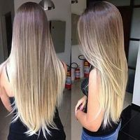 Nice #Ombre #HairColor #blondOmbre #blond