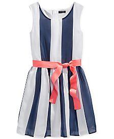 Tommy Hilfiger Girls' Striped Dress
