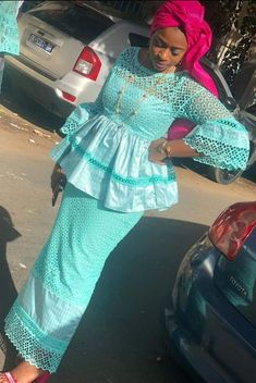 African Lace Dresses, African Dresses For Women, African Wear, African Attire, African Fashion Dresses, African Traditional Dresses, Girl Fashion, Fashion Outfits, African Print Fashion