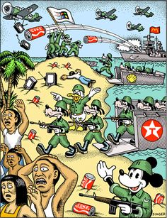 cultural imperialism essay Media Imperialism and American Way of Life – Flows Political Art, Political Cartoons, Satire, Caricature, Cultural Imperialism, American Imperialism, Culture Jamming, Satirical Illustrations, Socialism