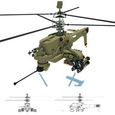 The model design of Unmanned Attack Helicopter (UAH). Spaceship Concept, Robot Concept Art, Concept Ships, Military Weapons, Military Aircraft, Flying Vehicles, Attack Helicopter, Future Weapons, Engin