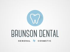 """We liked that they put the state of Texas between """"general"""" and """"cosmetic."""" We could possibly do something like this, but with the state of Kansas. We did not like the font of the logo. State Of Kansas, Dental Design, Dental Logo, Cosmetic Dentistry, Cool Logo, Teeth Whitening, Family History, Something To Do, Cosmetics"""