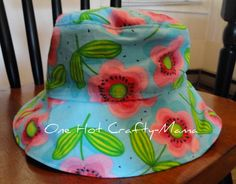 different kinds of hats | One Hot Crafty-Mama: Girl's Hat