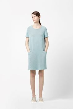 Textured jersey dress - I prefer pocket on my dress. So chic! COS.