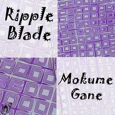 Click here to go to the ripple blade Mokume Gane tutorial