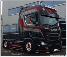 New 2016 SCANIA R