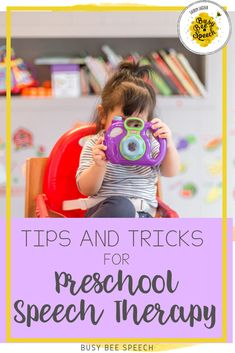 Here are my favorite preschool speech therapy tips and tricks. From routines to music, these suggestions are sure to help you make the most of your speech therapy sessions with your little ones.