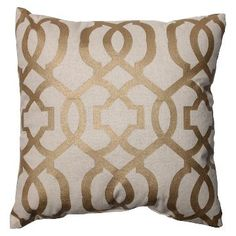 Pillow Perfect Geometric Throw Pillow - 16.5