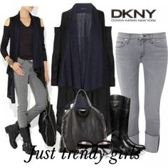 Winter fashion collection by Donna Karan | Just Trendy Girls