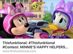 #Thisfunktional #TV: #Enter and #Share the #MinniesHappyHelpers #DVD #Contest at Thisfunktional.com (#Link in #Bio). #ThisfunktionalTV #Television #Animated #Animation #Disney #DisneyJunior #MinnieMouse #HomeEntertainment #Free http://ift.tt/1MRTm4L