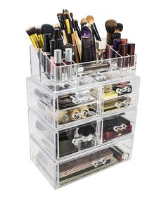 Seven Drawer Sectional Makeup Organizer By Sorbus · Makeup CounterJewellery  StorageCosmetic ...