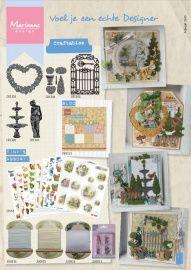 Folder Marianne Design februari 2015. Bekijk hier 2 pagina's van de folder met nieuwe producten van Marianne Design. Klik op de afbeelding, dan zie je het groter.