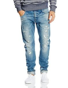 e61229ef1f0 G-Star Raw Men s Arc 3D Slim Fit Jean In Scatter 13Oz Denim