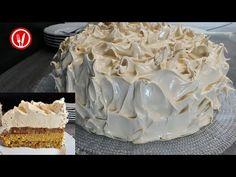 Torta Bomba   Bomb Cake - YouTube Bomb Cake, Cake Youtube, No Bake Desserts, No Bake Cake, Biscuits, The Creator, Good Food, Cooking, Drink