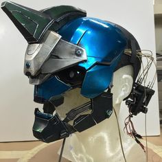 "Animatronic ""Cayde-6"" helmet I painted for the most recent Destiny commercial."