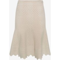 Alexander McQueen Bicolour Jacquard Lace Skirt ($935) ❤ liked on Polyvore featuring skirts, mini skirts, ivory, lace skirt, zipper skirt, mini skirt, ivory lace skirt and short pink skirt