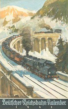 Reichsbahn-Kalender 1941