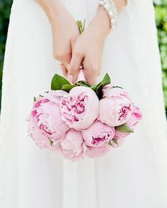 18 Peonies Bouquet Examples | Design Corral #peonies #wedding #bouquet