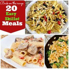 20 Easy Skillet Meals| Spoonful