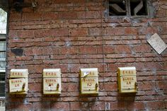 Chinese milk delivery boxes