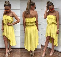nádherné asymetrické šaty UNI 2190 #newcollection#tvojstyl#tvojstylfashion