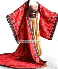 Chinese Empress Wu costume ideas
