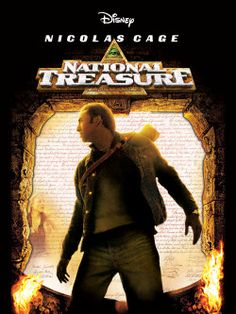 National Treasure. The one and only Nicholas cage movie I have ever likes