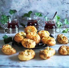 Helpot juustokanapeet valmistuvat puolessa tunnissa - Himahella Joko, Lidl, Baked Potato, Muffin, Menu, Bread, Snacks, Baking, Breakfast
