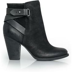 great black boots with buckles