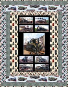 All Aboard Free Quilt Pattern