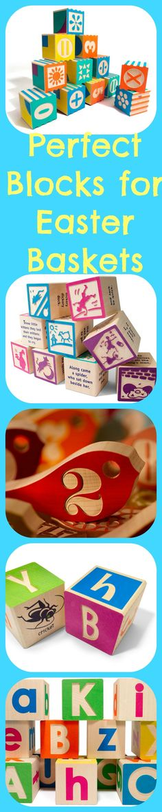 Click here to find the perfect educational heirloom blocks to add to your little one's Easter basket: http://kiddokorner.com/blog/the-perfect-blocks-for-easter-baskets-you-ll-love-these-educational-heirloom-toys.html