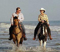 Romantic Horseback Riding