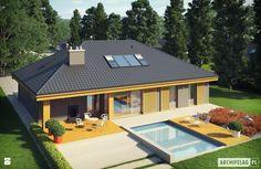 Projekt domu Gabriel G1 ENERGO - zdjęcie od Pracownia Projektowa ARCHIPELAG - Domy - Styl Minimalistyczny - Pracownia Projektowa ARCHIPELAG