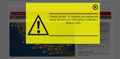 SMN prevé vientos fuertes con rachas de hasta 50 km/h | El Puntero