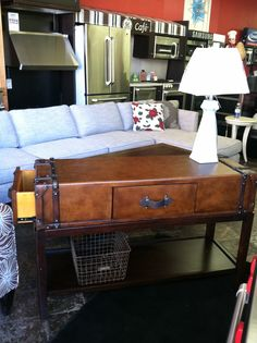 Awesome New Trunk Sofa Table At Coleu0027s Furniture  Shopcoles.com