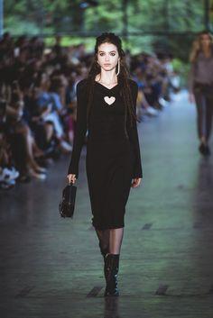 SPFW / ELLUS / rock, black dress, vestido preto, balada, dreads | ph: Jefferson Souza