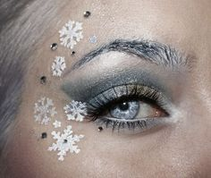 ice blue makeup | ..