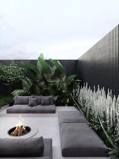 Modern Garden Design, Terrace Design, Backyard Garden Design, Terrace Garden, Patio Design, Backyard Landscaping, Landscape Design, Terrace Ideas, Modern Design