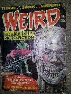 WEIRD Picto-Fiction Dec 1966