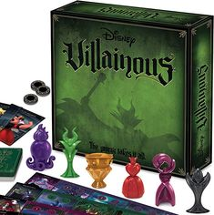 Ravensburger Disney Villainous Strategy Board Game for Age 10 & Up – 2019 Toty Game of The Year Award Winner – welcome Toys and games – Page 32 – welcome Adult Games, Games For Kids, Games To Play, Family Board Games, Fun Board Games, Gifts For Disney Lovers, Gifts For Programmers, Disney Games, Disney Food