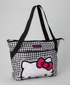 "SANRIO HELLO KITTY RED SEQUIN TOTE BAG 13/""X12/""X3/"" GIRL SHOPPING BAG  MUST L@@K"
