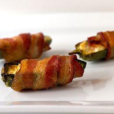 Cream Cheese-Stuffed, Bacon-Wrapped Jalapeños - tutorial