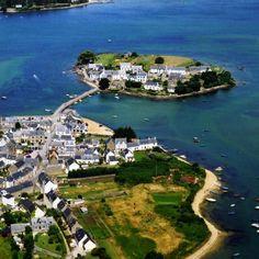frankrijkpuur.nl | De mooiste dorpen in Bretagne, Frankrijk: Saint-Cado #saintcado #dorp #bretagne #dorpen #dorpjes #frankrijk