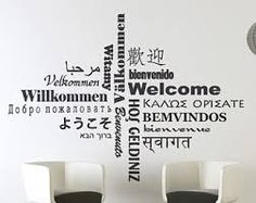 Image result for welcome wall office